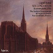 Bond: Six Concertos in Seven Parts / Parley of Instruments
