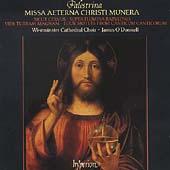 Palestrina: Missa Aeterna Christi Munera, etc / O'Donnell