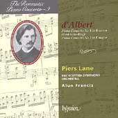 The Romantic Piano Concerto Vol 9 - d'Albert / Lane