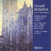 """Durufle: Requiem, Mass """"Cum Jubilo"""", etc / O'Donnell"""
