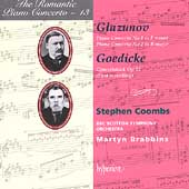 The Romantic Piano Concerto 13 - Glazunov, Gedike / Brabbins