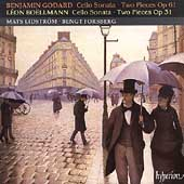 Godard, Boellmann: Cello Sonatas, etc / Lidstroem, Forsberg