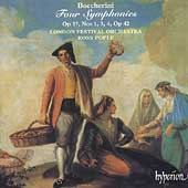 Boccherini: Four Symphonies / Ross Pople, London Festival