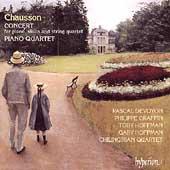 Chausson: Concert, Piano Quartet / Chilingirian Quartet