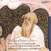 The Spirits of England and France Vol 5 - Missa Veterem
