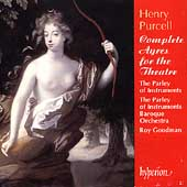 Purcell: Complete Ayres for Theatre / Parley of Instruments