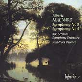 Magnard: Symphonies no 3 and 4 / Ossonce, BBC Scottish SO