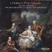 C.P.E. Bach: Flute Concertos / Rachel Brown, Roy Goodman