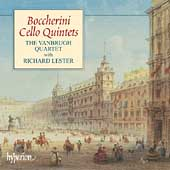 Boccherini: Cello Quintets Vol 1 / Lester, Vanbrugh Quartet
