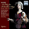 Handel: An Ode to St. Cecilia's Day / King, Sampson, et al
