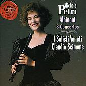 Albinoni: 8 Flute Concertos:Michala Petri(rbfl)/Claudio Scimone(cond)/I Solisti Veneti
