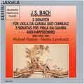 J.S.Bach: 3 Sonatas For Viola Da Gamba and Harpischord