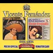 Volume 13: Vicente Fernandez/15 Grandes con el Numero 1