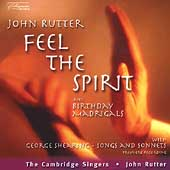 Feel the Spirit / Rutter, W. & M. Marshall, Creese, et al