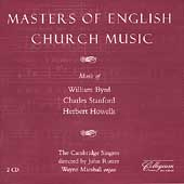 Masters of English Church Music / Rutter, Cambridge Singers
