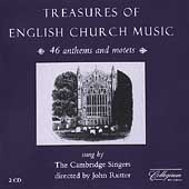 Treasure of English Church Music / Rutter, Cambridge Singers