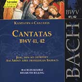 Edition Bachakademie Vol 14 - Cantatas BWV 41-42 / Rilling
