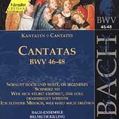Edition Bachakademie Vol 16 - Cantatas BWV 46-48 / Rilling