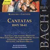 Edition Bachakademie Vol 19 - Cantatas BWV 58-61 / Rilling