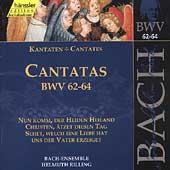 Edition Bachakademie Vol 20 - Cantatas BWV 62-64 / Rilling