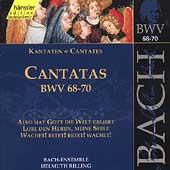 Edition Bachakademie Vol 22 - Cantatas BWV 68-70 / Rilling