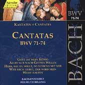 Edition Bachakademie Vol 23 - Cantatas BWV 71-74 / Rilling