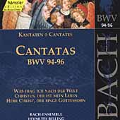 Edition Bachakademie Vol.30 - Cantatas BWV 94-96 / Wolfgang Schone(Bs-Br), Helmuth Rilling(cond), Gachinger Kantorei Stuttgart