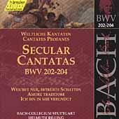 Edition Bachakademie Vol 62 - Secular Cantatas BWV 202-204