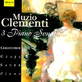 Clementi: 3 Piano Sonatas / Christopher Czaja Sager