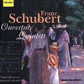 Schubert: Ouverture, Quintett / Lovett, Verdi Quartett