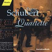 Schubert: Quartette D 804, D 36  / Verdi Quartet