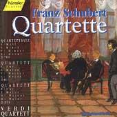 Schubert: Quartets D 703, D 46 & D 353 / Verdi Quartett