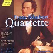 Schubert: Quartette D 68, D 887 / Verdi Quartett