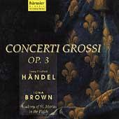 Handel: Concerti Grossi / Brown, Academy St Martin in Field