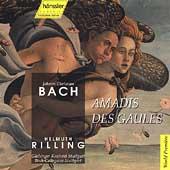 J.C. Bach: Amadis des Gaules / Ulrike Sonntag(S), Helmuth Rilling(cond), Gachinger Kantorei Stuttgart, etc