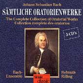 Bach: Saemtliche Oratorienwerke / Helmuth Rilling