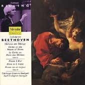 Beethoven: Christus am 冤berge, Messe C-Dur / Rilling