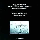 Hindemith: Sonatas for Viola / Kim Kashkashian, Robert Levin