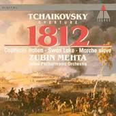 Tchaikovsky: 1812, Marche Slave, etc / Mehta, Israel PO