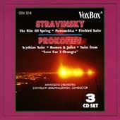 Stravinsky: Rite of Spring;  Prokofiev: Scythian Suite