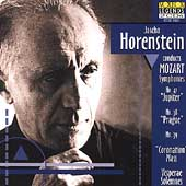 Jascha Horenstein conducts Mozart: Symphonies, etc