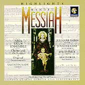 Handel: Messiah  / Radu, Baird, Lane, Price etc