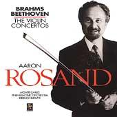 Brahms, Beethoven: Violin Concertos / Rosand, Inouye, et al