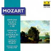 Mozart: Symphonies no 40 & 41 / Hager, Mozarteum Orchestra