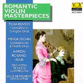 Romantic Violin Concertos - Tchaikovsky, Mendelssohn/ Rosand
