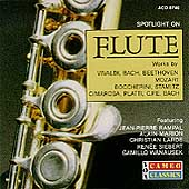 Spotlight on Flute - CPE Bach, Vivaldi, Mozart, Bach, et al