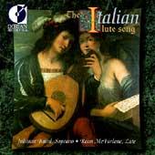 The Italian Lute Song / Julianne Baird, Ronn McFarlane