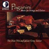 Paganini: Music for Strings & Guitar / Diaz Trio, Gray