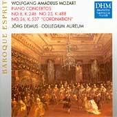 Baroque Esprit - Mozart: Piano Concertos no 8, 23, 26 /Demus
