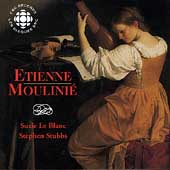 Moulinie: Airs With Lute Tablature Book 1 / Le Blanc, Stubbs